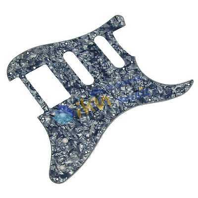 NEW 4Ply Pearl Grey Squier Guitar Pickguard HSS Fender Squier Style Pickguard