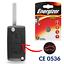 Coque-Cle-Telecommande-pour-Plip-PEUGEOT-207-307-308-407-607-CE0536-COFFRE-PILE miniature 1