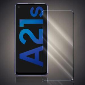 Panzer Folie für Samsung Galaxy A21s Echt Glas Displayschutzfolie Schutzglas 9H