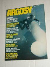 Vintage ARGOSY Men's Service Magasine Vol 374 #1 January 1972