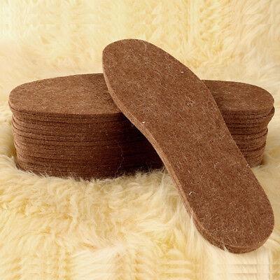 Women Men Thicken Lambswool Shoe Boots Insoles Soft Warm Winter Inner Soles Acc