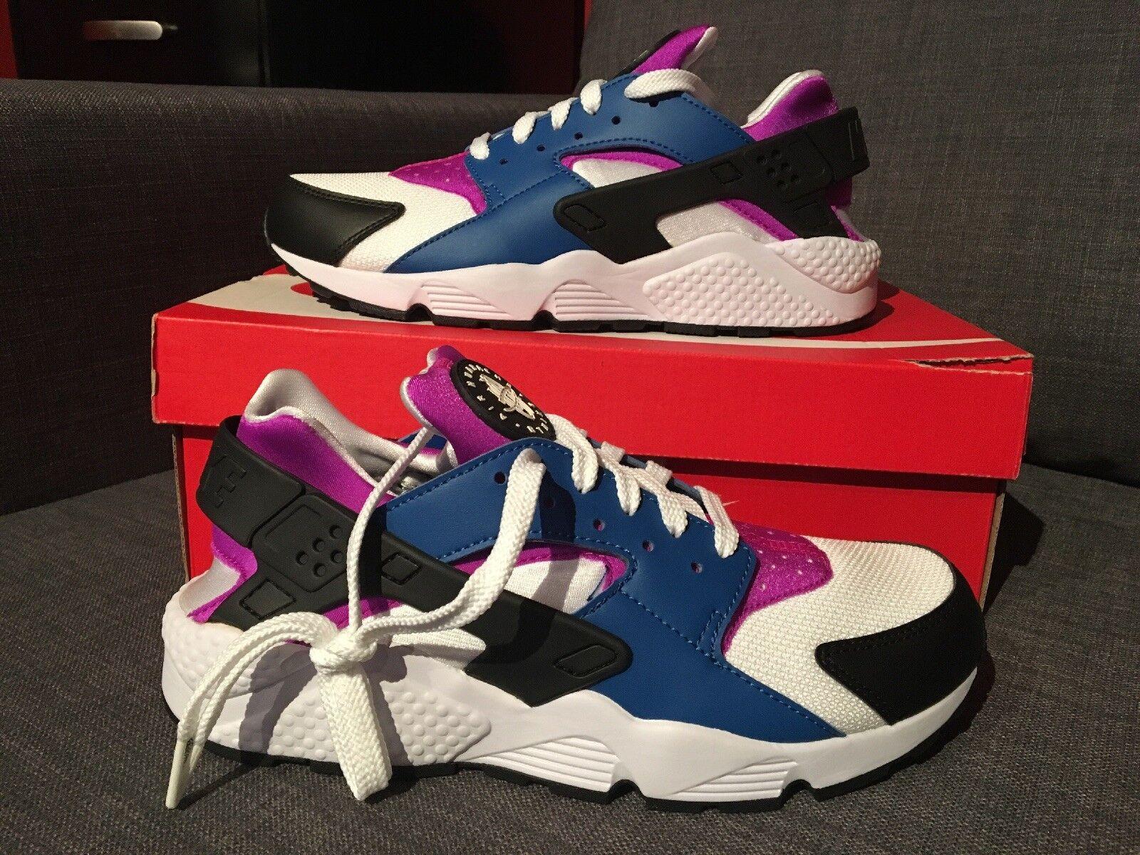 Nike Mens Air Huarache Blue Jay/Hyper Violet 318429-415 Mens Nike Size 9 11.5 12.5 ceb514