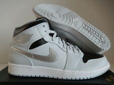 brand new fe283 0e65d item 2 NIKE AIR JORDAN 1 MID PURE PLATINUM-WHITE-METALLIC SILVER SZ 13   554724-032  -NIKE AIR JORDAN 1 MID PURE PLATINUM-WHITE-METALLIC SILVER SZ  13 ...