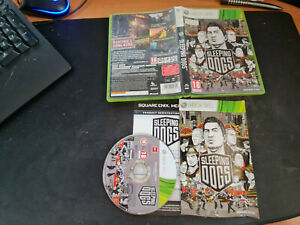 SLEEPING DOGS - MICROSOFT - XBOX 360  - XBOX X - XBOX ONE (RC)