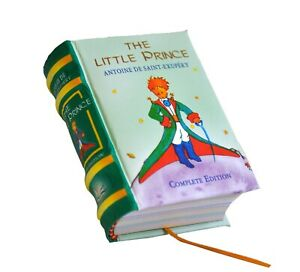 The Little Prince In English Miniature Book Hardbound Color Pages Ribbed Spine Ebay