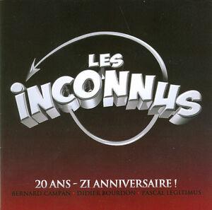 20-ans-zi-anniversaire-CD-DVD-Bonus-LES-INCONNUS-NEUF