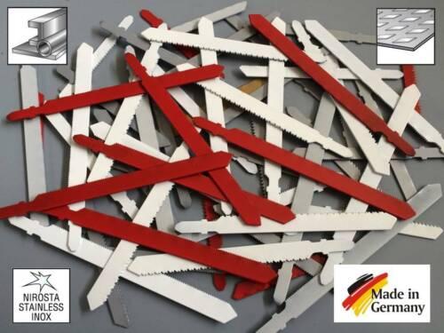 Stichsägeblätter Sägeblatt 60 Stück T-Schaft Aufnahme für Profile Rohre Stahl.