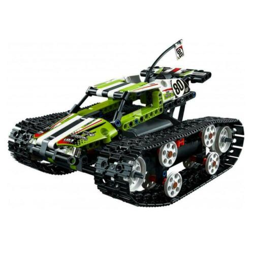 Ferngesteuerter Tracked Racer Offroad Truck RC Tracked N1//17 397 Stück Technic