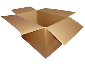 Removal Double Wall Boxes Cardboard Packing Packaging Select Size & Qty