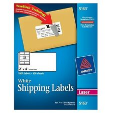 Avery Mailing Labels For Laser Printers - 5163