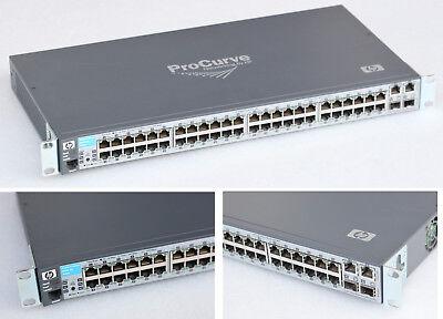 48x Port 10/100 Switch Hp Procurve 2610-48 J9088a 2x Gigabit Uplink #nw51-