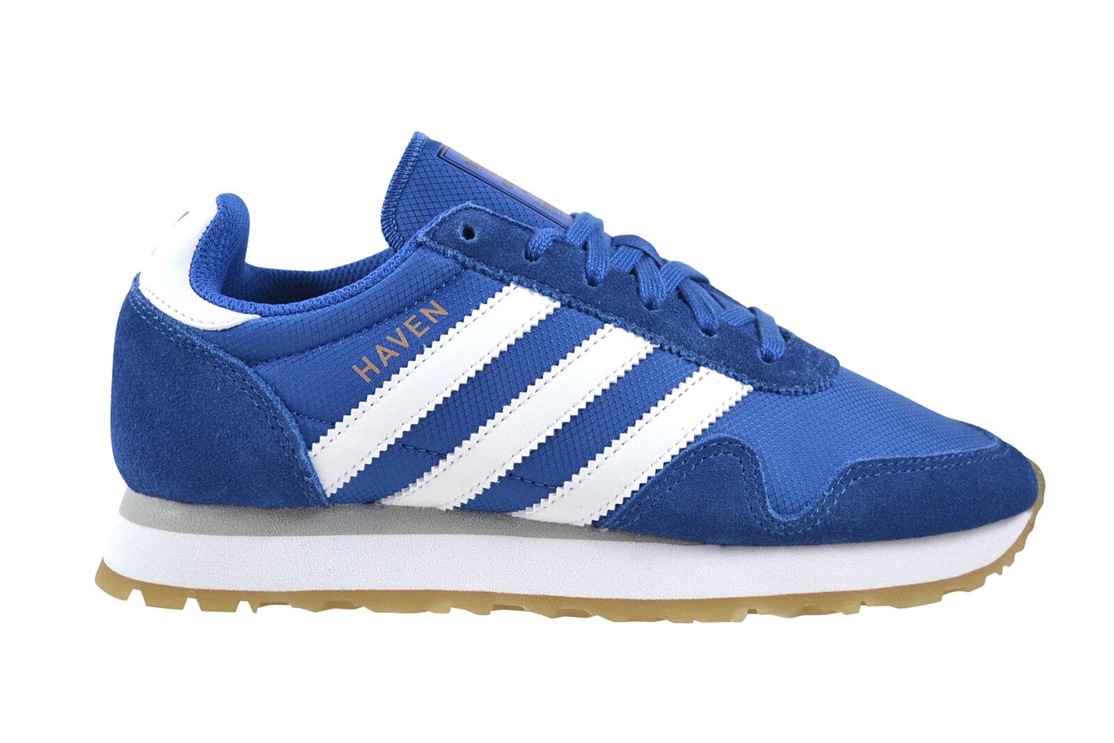 Adidas Haven Blau Weiß gum Turnschuhe Schuhe blau BY9716
