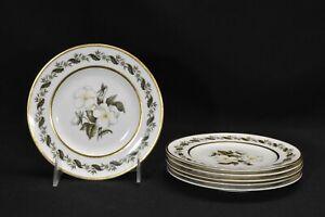 Royal-Worcester-Bernina-Set-of-6-Bread-amp-Butter-Plates