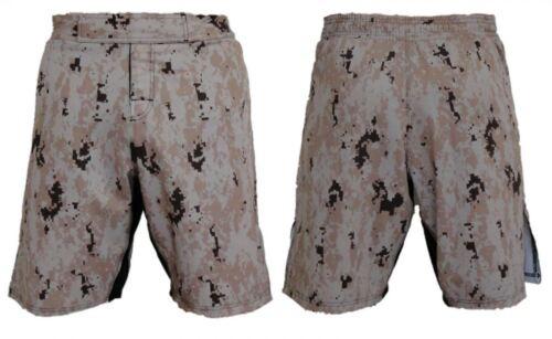 Full MARPAT Desert Digi Camo Blank MMA Fight Shorts