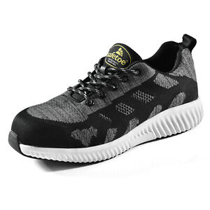 Safetoe-Safety-Shoes-Flyknit-Steel-Toe-Extra-Wide-Breathable-Composite-Anti-nail