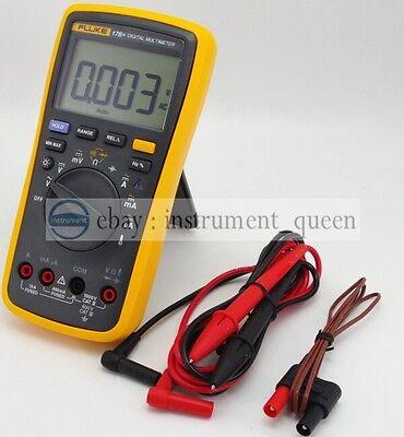 Digital multimeter Meter Tester DMM with TL75 test leads New FLUKE 17B F17B