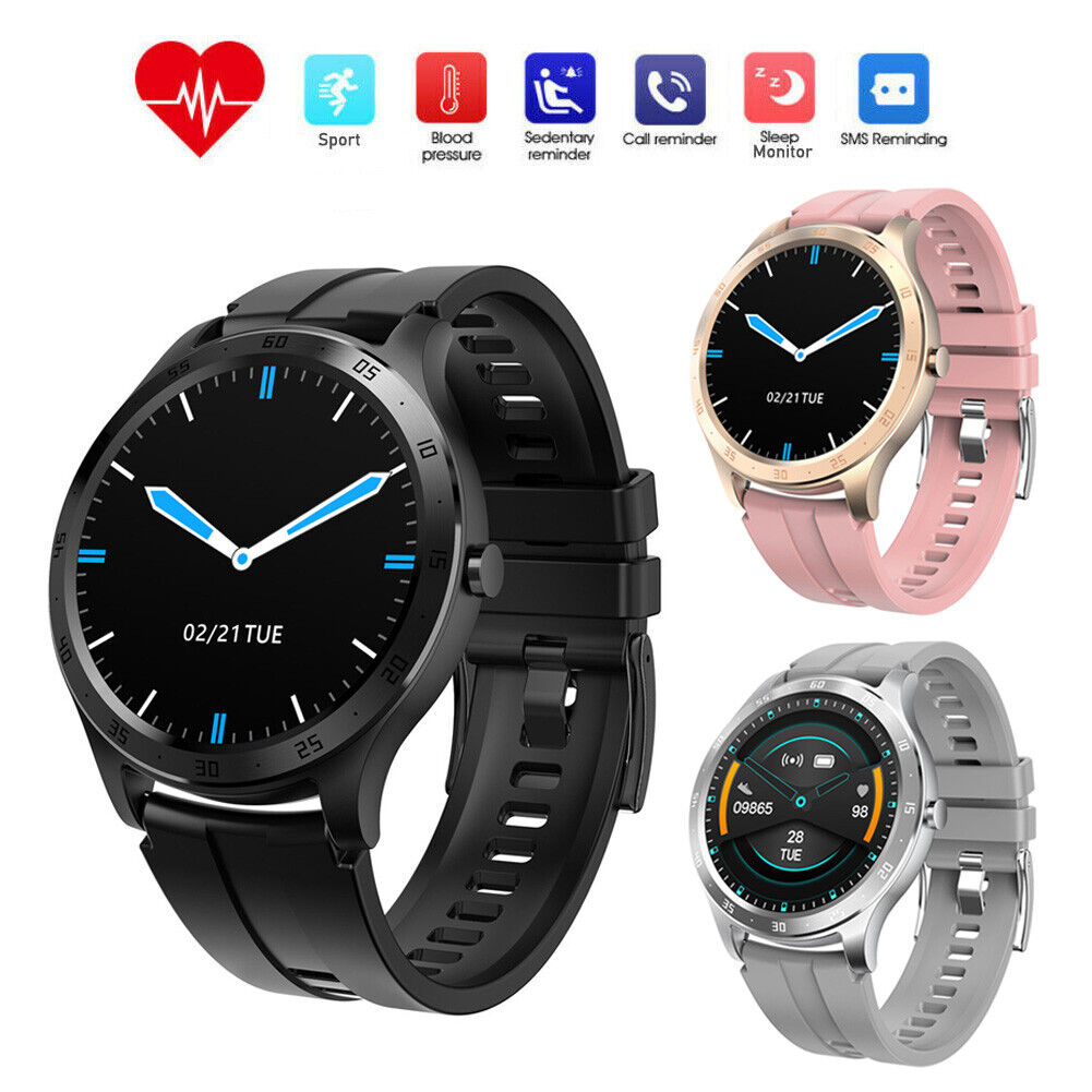Women Men Smart Watch Heart Rate Sport Bracelet for iPhone 8 X 11 XS XR Android