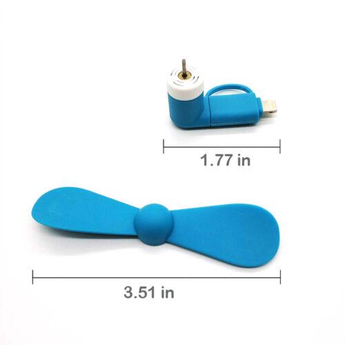 Type C USB-C Fan Travel Mini Portable Hand Held Cooling Mobile Phone Fan New Hot