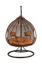 Charles Bentley Double Rattan Swing Chair For Sale Online Ebay