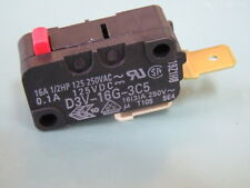 SPST-NC D3V-16G-2C25 OMRON ELECTRONIC COMPONENTS MICROSWITCH 16A PIN