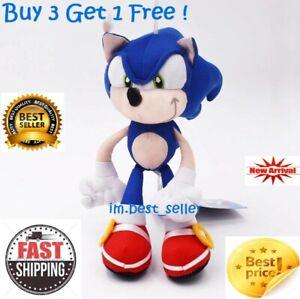 New Sonic Hedgehog Movie 2020 Plush 10 Inch Toy Factory W Tag Buy 3 Get 1 Free Ebay