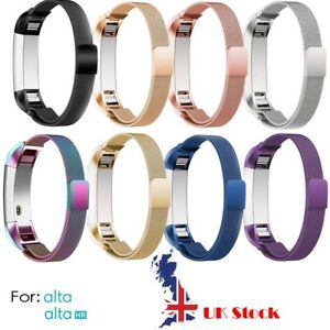 Stainless Steel Replacement Spare Bracelet Band Strap for Fitbit Alta  Alta HR - GLASGOW, United Kingdom - Stainless Steel Replacement Spare Bracelet Band Strap for Fitbit Alta  Alta HR - GLASGOW, United Kingdom