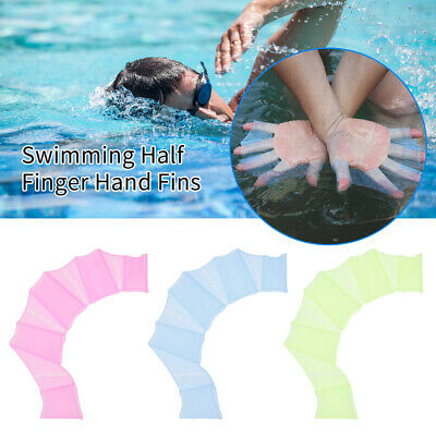Gabriely Snorkel Fins 1 Pair Frog Silicone Hand Swimming Fins Handcuffs Flippers Swim Palm Finger
