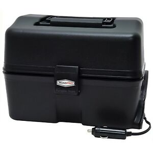 Stove Oven 12V Car Microwave Lunch Box Portable Kit Camping Meals Plug Black