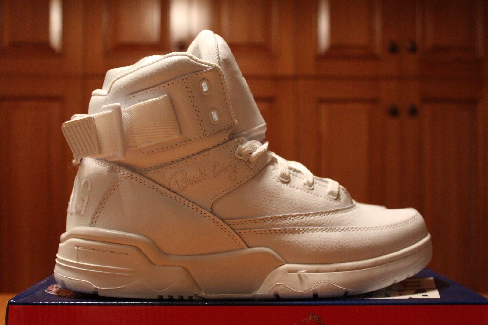 Ewing 33 hi White Basketball Shoes US Shoe Size 9.5