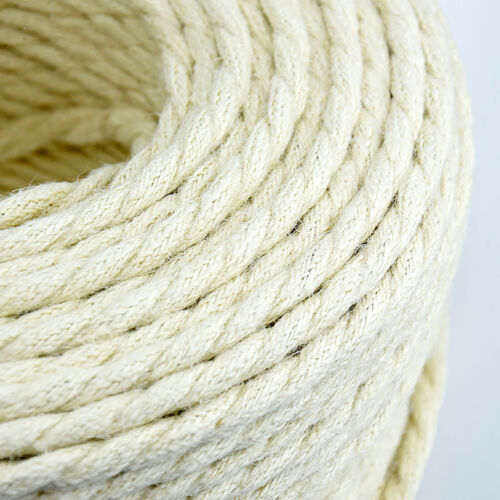 Twisted Fabric Braided Cable Lighting Flex Cord 2 Core 0.75mm Vintage Retro