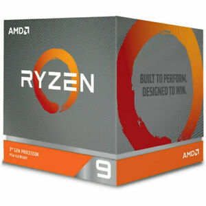 AMD Ryzen 9 3900X 12 Core Socket AM4 3.8GHz Desktop Processor (100-100000023BOX)