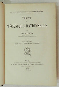 TRAITE-DE-MECANIQUE-RATIONNELLE-TOME-I-PAUL-APPELL-1893