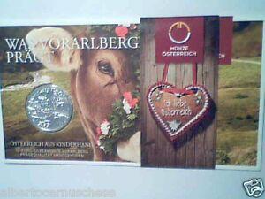 10 euro 2013 Ag folder Austria Autriche Osterreich Vorarlberg Bregenz Bodensee