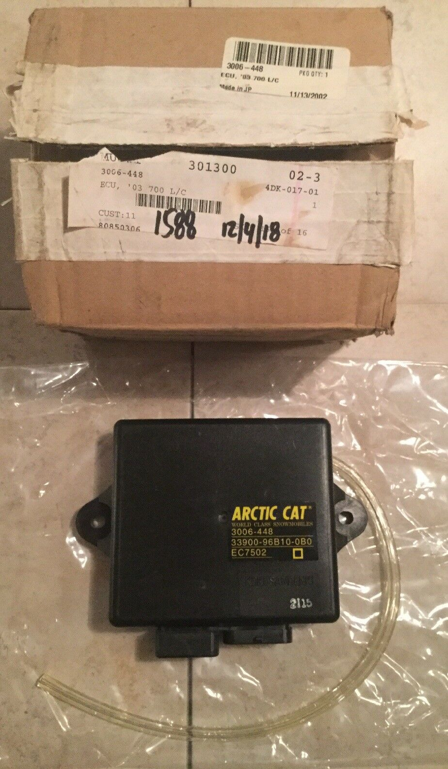 2005 Arctic Cat F7 Firecat 700 Sno Pro OEM CDI ECU ECM COMPUTER 3007-011