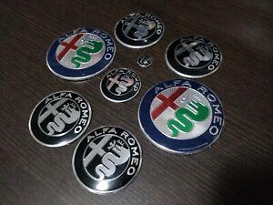 Kit-completo-loghi-Nuovi-Giulia-Stelvio-Alfa-Romeo-MiTo-147-GT-156-CONSEGNA-48H