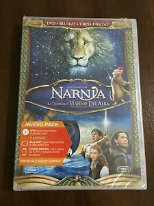 LA-TRAVESIA-DEL-VIAJERO-DEL-ALBA-SAGA-NARNIA-COMBO-BLURAY-DVD-NEW-amp-SEALED