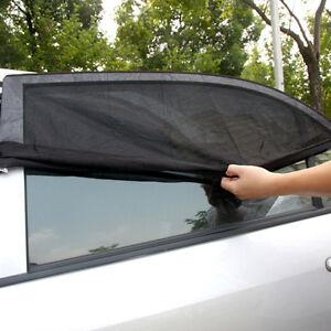 Image is loading 2-x-Car-Side-Rear-Window-Sun-Visor-