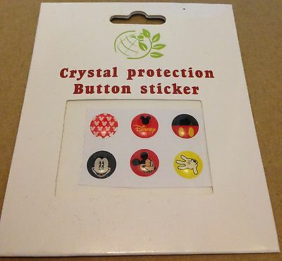 6 Glossy Home Button Sticker For apple iPhone 5 5C 4S iPad 1 2 3 4. Disney logo