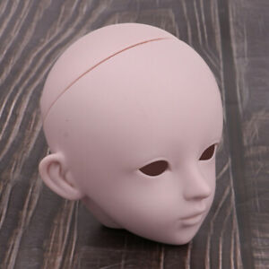 1:6 Doll Head Sculpt for Bjd Ball Jointed Head DIY Parts Practise Supplies