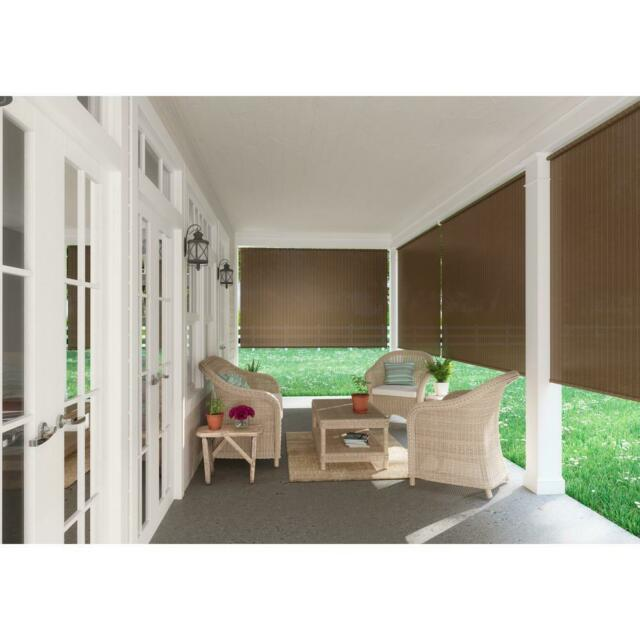 Window Sun Shade Blind Roll Up Exterior