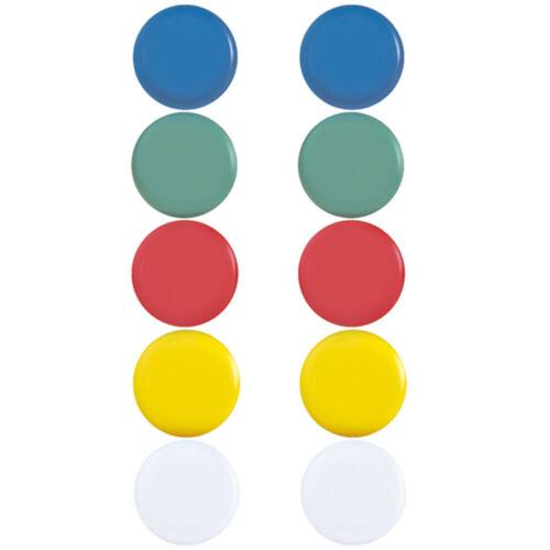 Magnete Kühlschrank Magnet Set Bunt 10x Kühlschrankmagnete rund stark farbig