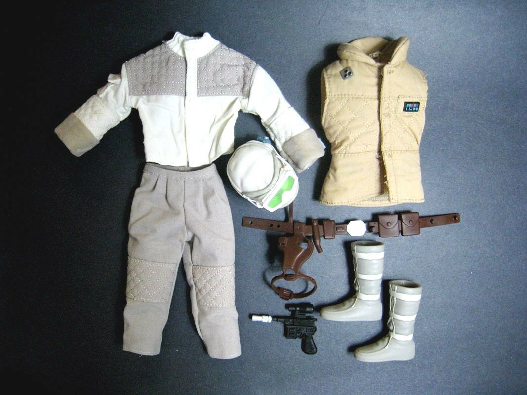1 6 Luke Hoth Star Wars Outfit Blaster for Battlefront Sideshow Hot Toys Rebel