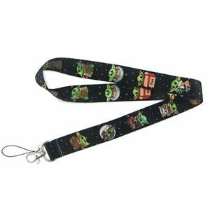 The-Mandalorian-Cute-Baby-Yoda-Star-Wars-Lanyard-Neck-Strap-ID-Holder-Gift
