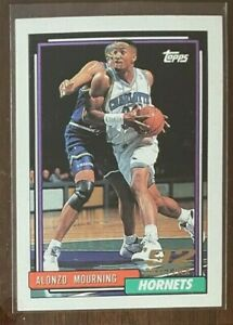 1992 Topps Alonzo Mourning Rookie Card #393