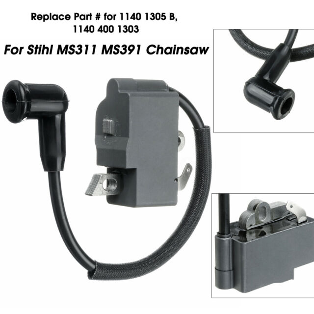 Ignition Coil fits Stihl OEM 1141-400-1303 11414001303 1146-400-1304 11464001304