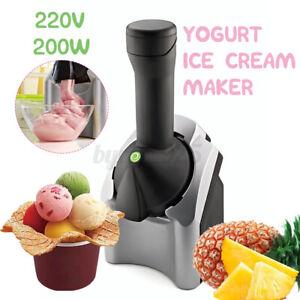 for Frozen Fruit Dessert Make Portable Household Use Fruit Soft Serve Frozen Yogurt Machine Sorbet Electronic Ice Cream Maker