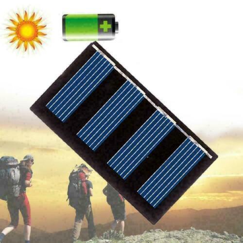 7V 50mA Poly Mini Solar Cell Panel Module DIY For Toys Charger X0I5 N4I8 V6P1