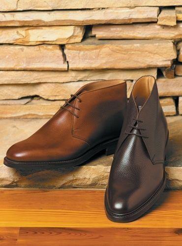 botas para hombre hecho a mano Negro y Marrón Cuero Chukka Zapatos Casuales De Vestir Ropa Formal