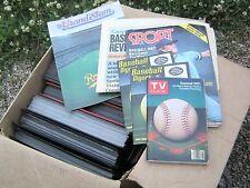 Huge Lot George Brett Scrapbooks,TV Guide,700+ Pages,Kansas City Royals,1980's
