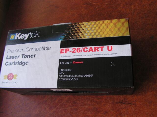 Keytek Premium Compatible Laser Toner Cartridge Canon EP-26/CART U